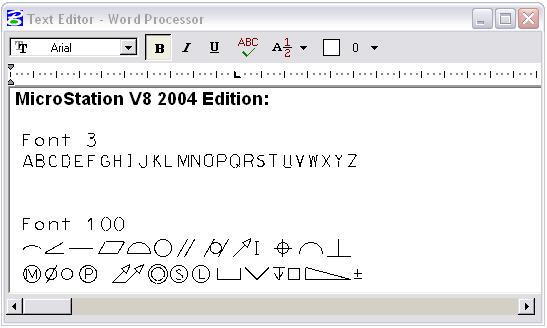 Converting MicroStation RSC fonts to TTF fonts - AskInga Community