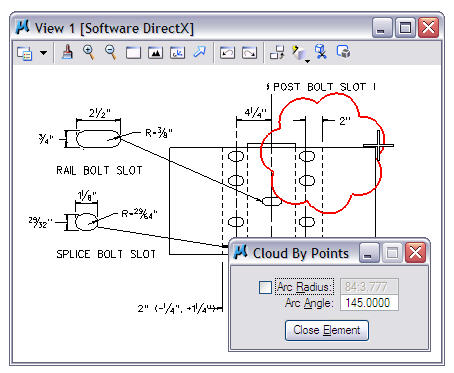 Draw Revision Clouds In Microstation Xm Askinga