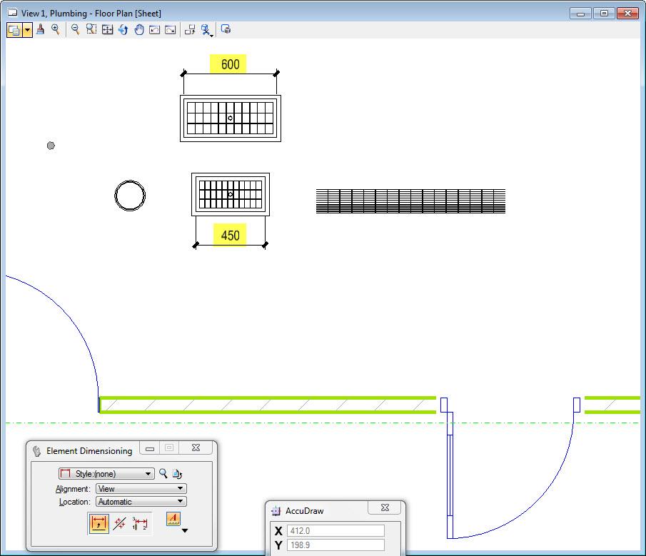 How To Customize Mechanical Plumbing Plan Symbols In Aecosim