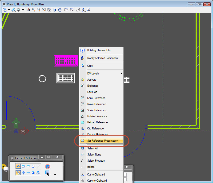 How To Customize Mechanical Plumbing Plan Symbols In Aecosim