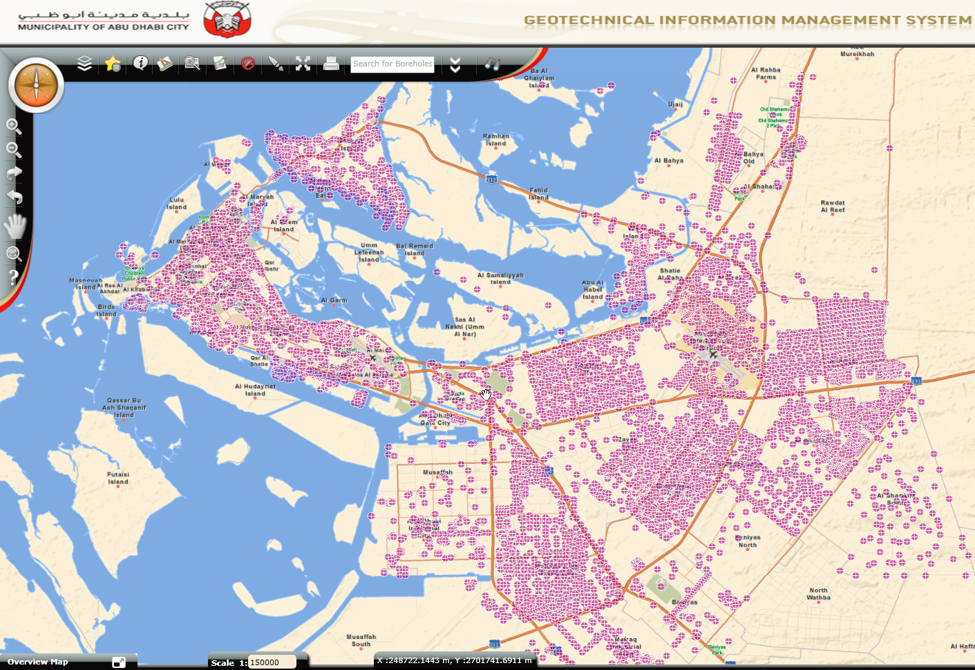 Article on how Abu Dhabi City uses gINT for managing information for