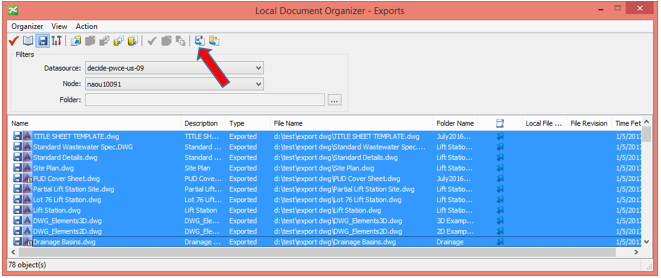 Methods for Mass Updating files in ProjectWise (Fixing Civil