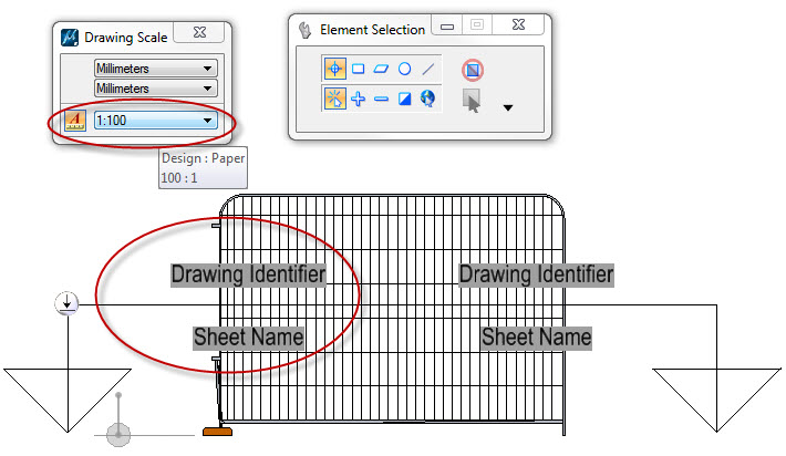 how to change section scale in revit