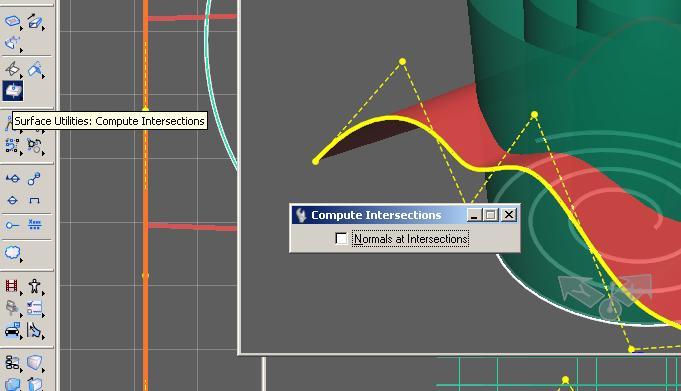 how to create a b spline surface microstation
