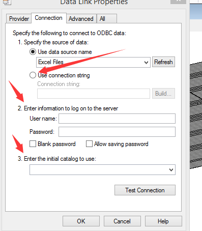 how to make database connect to excel - MicroStation Forum