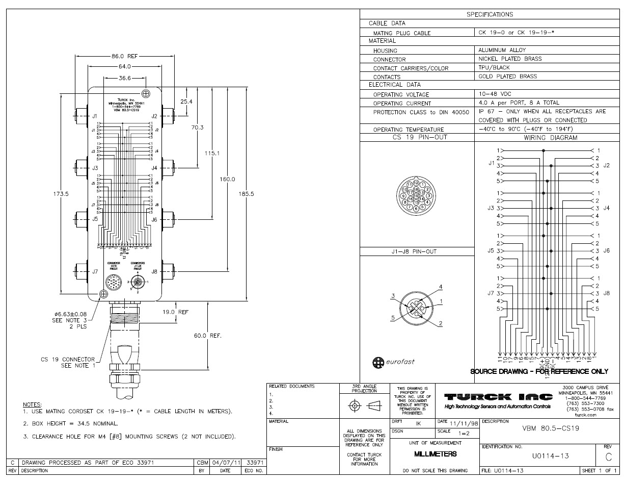 Schematic Integration of Junction Blocks - OpenUtilities Substation |  Promis.e Forum - OpenUtilities - Bentley Communities | Turck 12 Pin Wiring Diagram |  | Bentley Communities - Bentley Systems