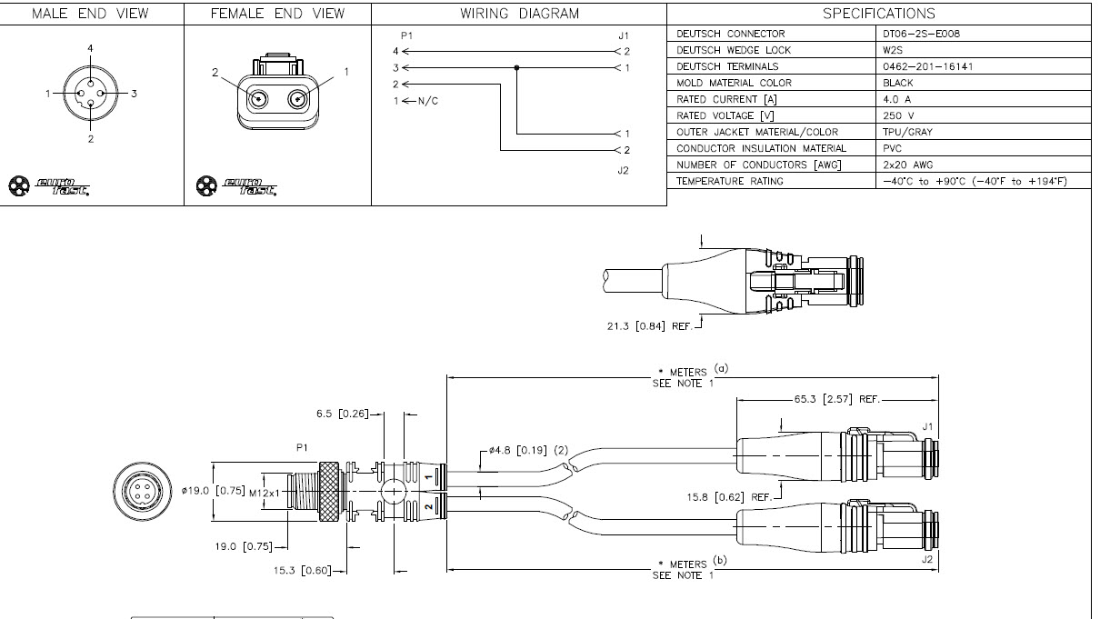 WRG-1822] Wire Harness Drawing on