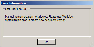 ProjectWise Work Flow Assigned Folder Drag n Drop Stopped Working
