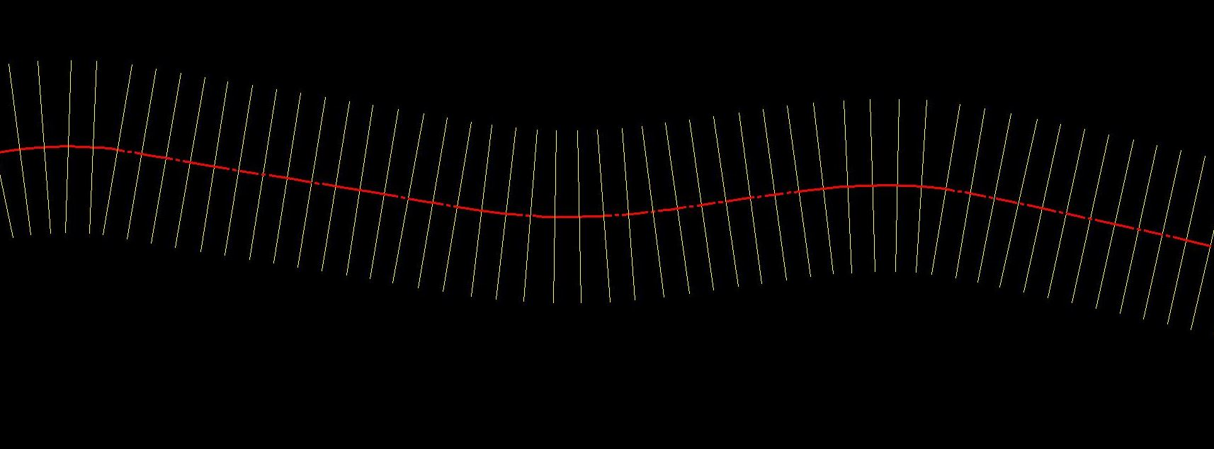 Drawing Lines In Microstation : Draw perpendicular line from a string at regular