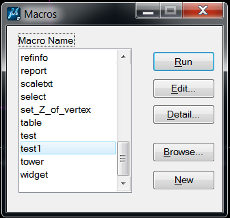 VBA interface error - MicroStation Programming - Forum