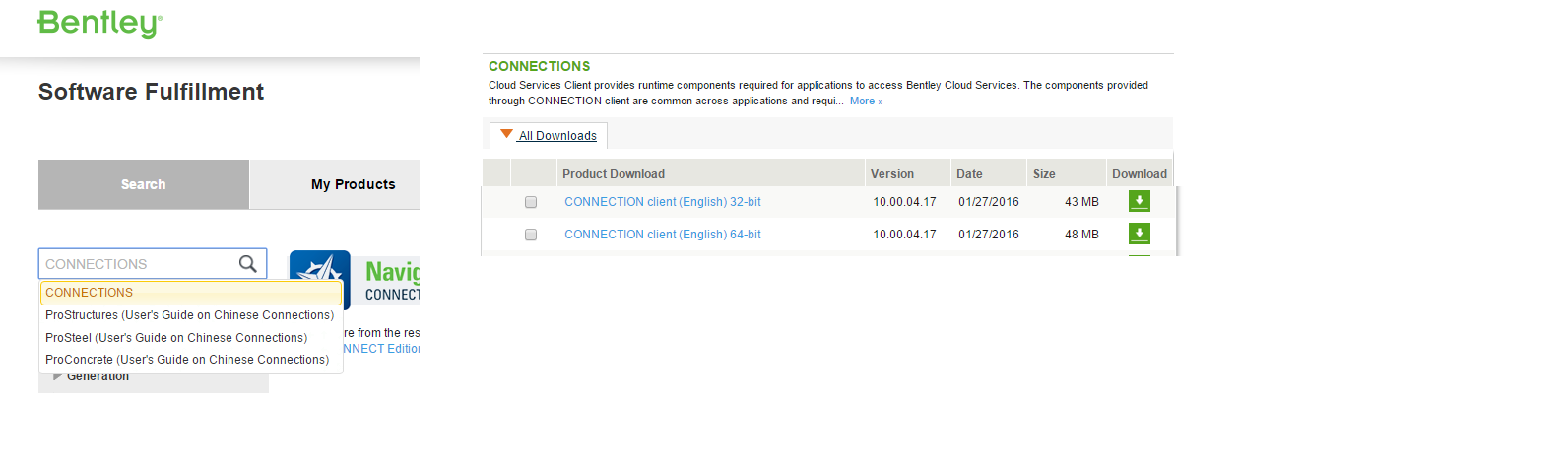 Bentley Connect Didn T Update By February 6th Cloud And Web