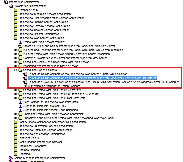 求projectwise Interplot Server 安装程序及实现图纸对比的配置资料 内容和资产管理 Projectwise等 Bentley 中国优先社区