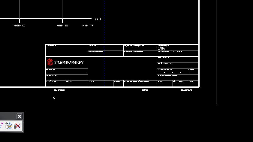 Plan And Profile Generator Title Block Data File