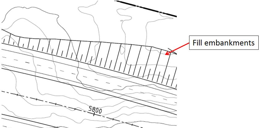 How Do You Create Embankment Lines Some Times Called Piano Lines Or