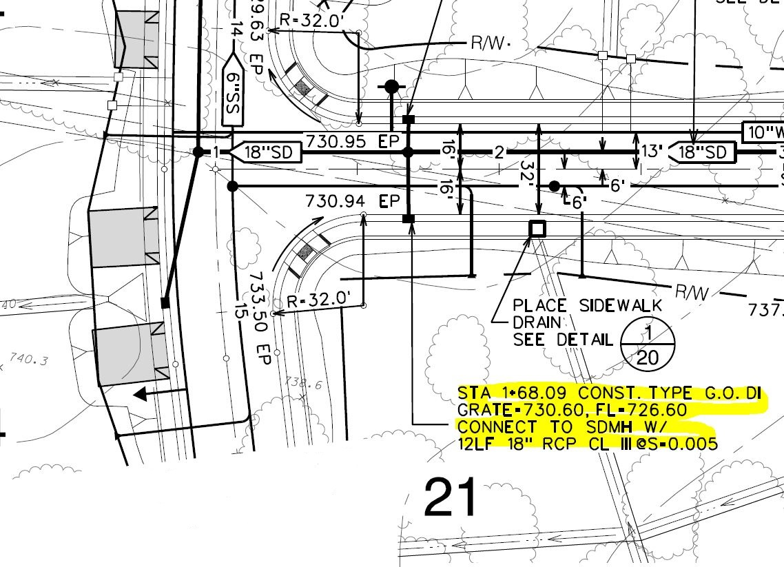 CivilStorm Catch Basin / Manhole Report and Plan Preparation ... for Catch Basin Plan  589hul