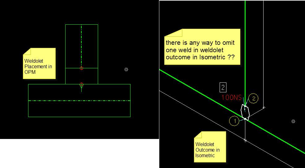 OpenPlant Modeler And Isometric Manager - Customizing Weld