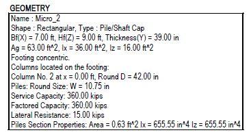 Footing Flexural Reinforcement - Effective Steel Area Calculation