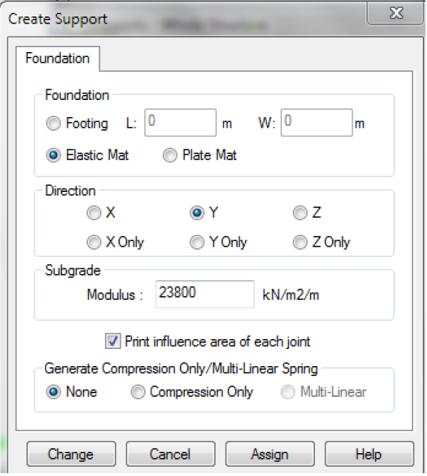 Elastic Mat Foundation Problem - RAM | STAAD Forum - RAM | STAAD