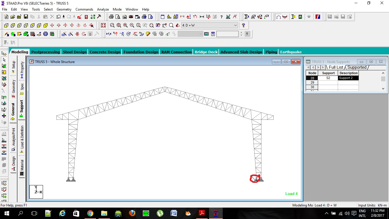 I Donu0027t Know If What I Did Was Right In My Modelling Process. Should I  Separate The Design Of The Roof Truss From The Vertical Column? Is That  Possible?
