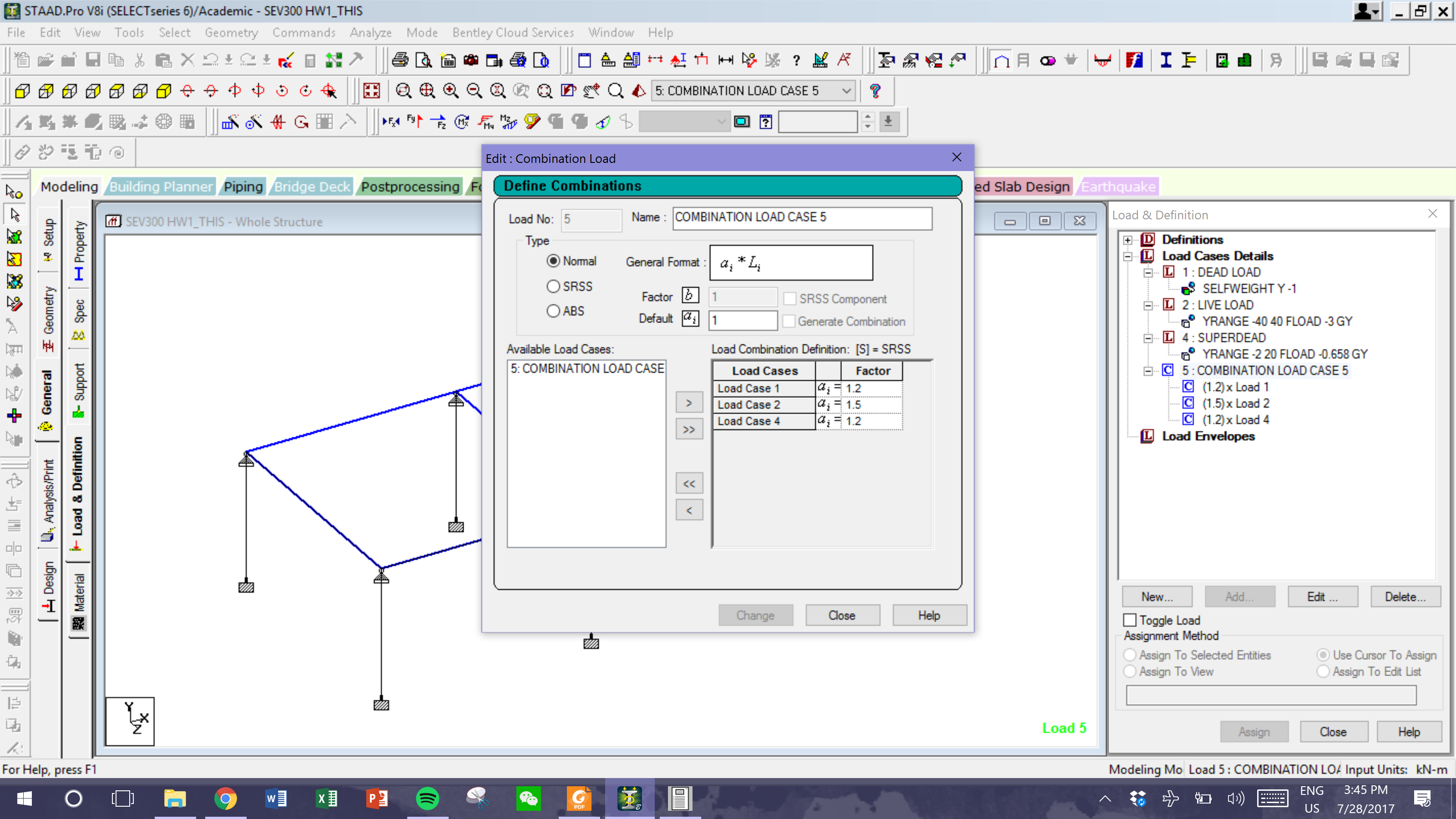 Staad Pro Shear And Moment Analysis Ram Forum Force Bending Diagram For Uniformly Distributed Load On If You Thank So Much