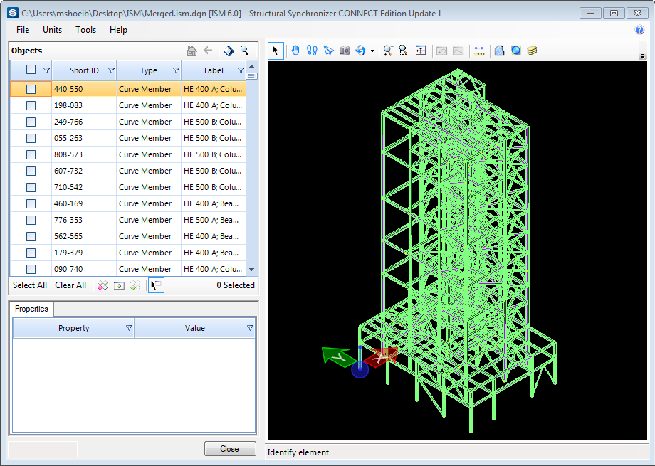 Error with ISM Profile Mapping to Tekla - RAM   STAAD Forum
