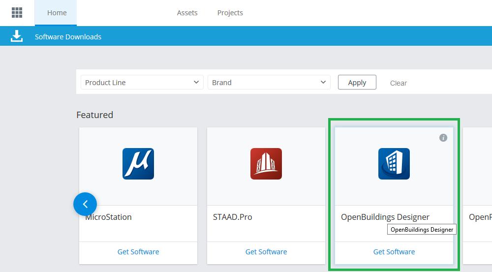 Installing OpenBuildings Designer - OpenBuildings   AECOsim