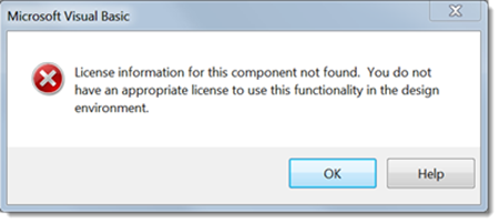 License information for this component not found