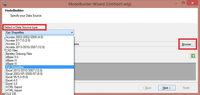 Using ModelBuilder to Import External Data - OpenFlows