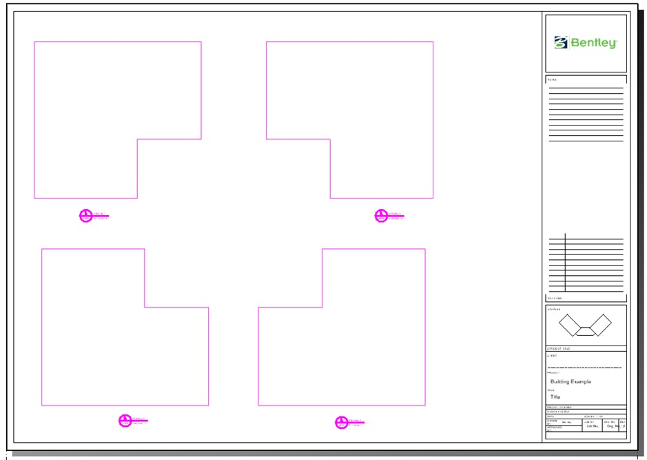 Automating sheet creation using drawing boundaries and named