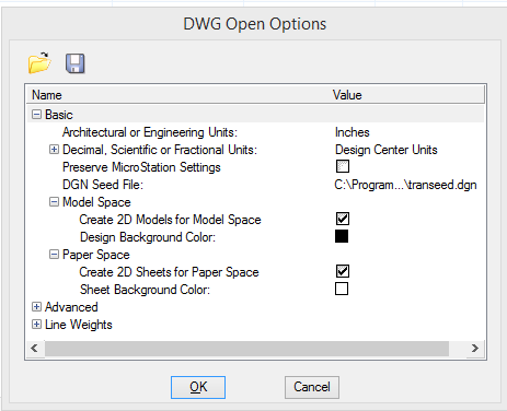 How to convert a DWG to a DGN - MicroStation Wiki