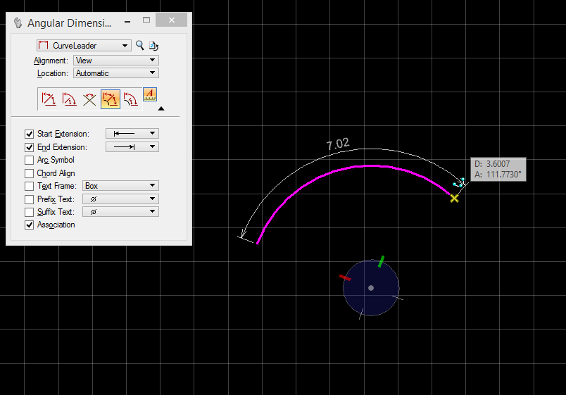 Drawing Lines In Microstation : How to measure or dimension the length of an arc
