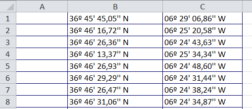 Insert Longitude and Latitude Coordinates in a DGN file with