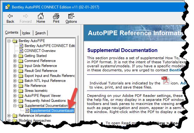 1bb36ba04da9ed AutoPIPE User interface - AutoPIPE Wiki - AutoPIPE - Bentley Communities