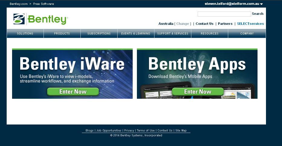02a  Download Bentley Software - Before May 2014(es