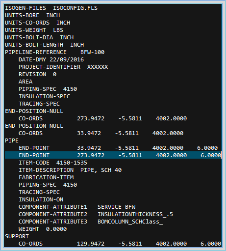 13  How to map a Line Number from a PCF file into AutoPIPE