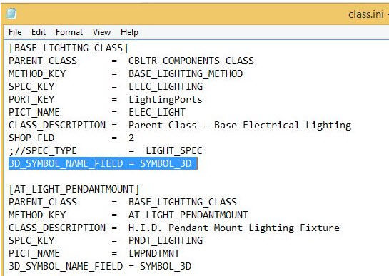 How To Use Custom Symbols For Lightning In Cable Tray Module