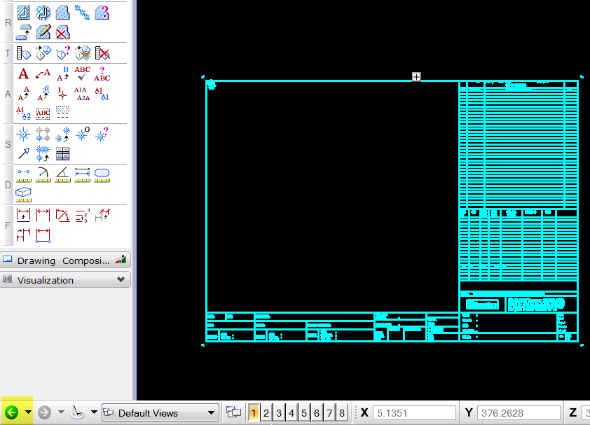 How to convert autocad drawing template file as default Opensource cad dwg