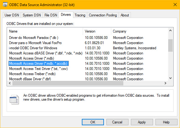 Microsoft][ODBC Excel Driver] too few parameters  Expected 2