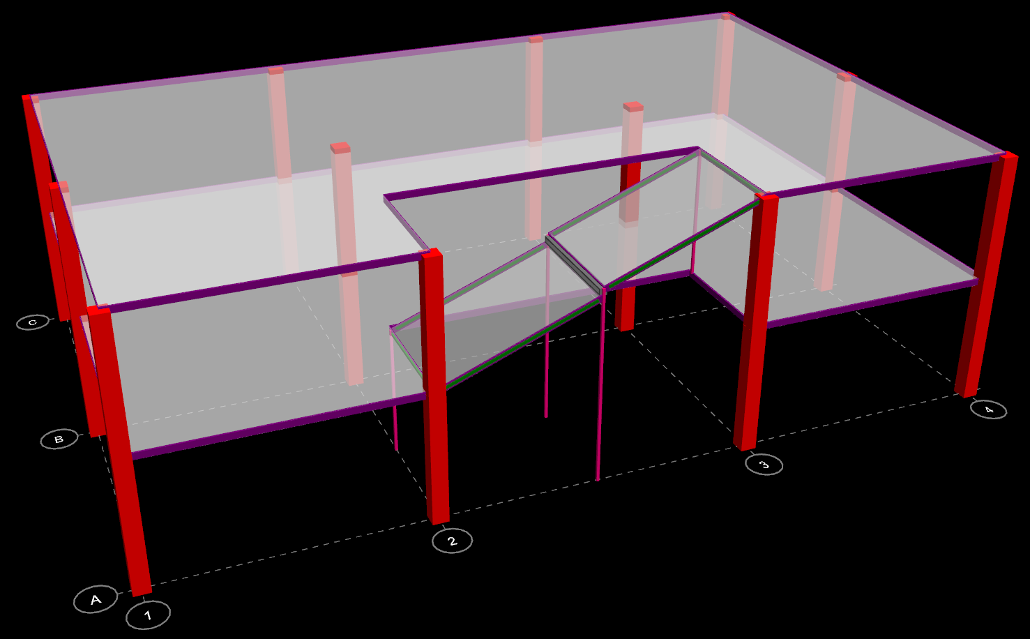 Ram Ss How To Model Ramps In Ram Structural System Ram