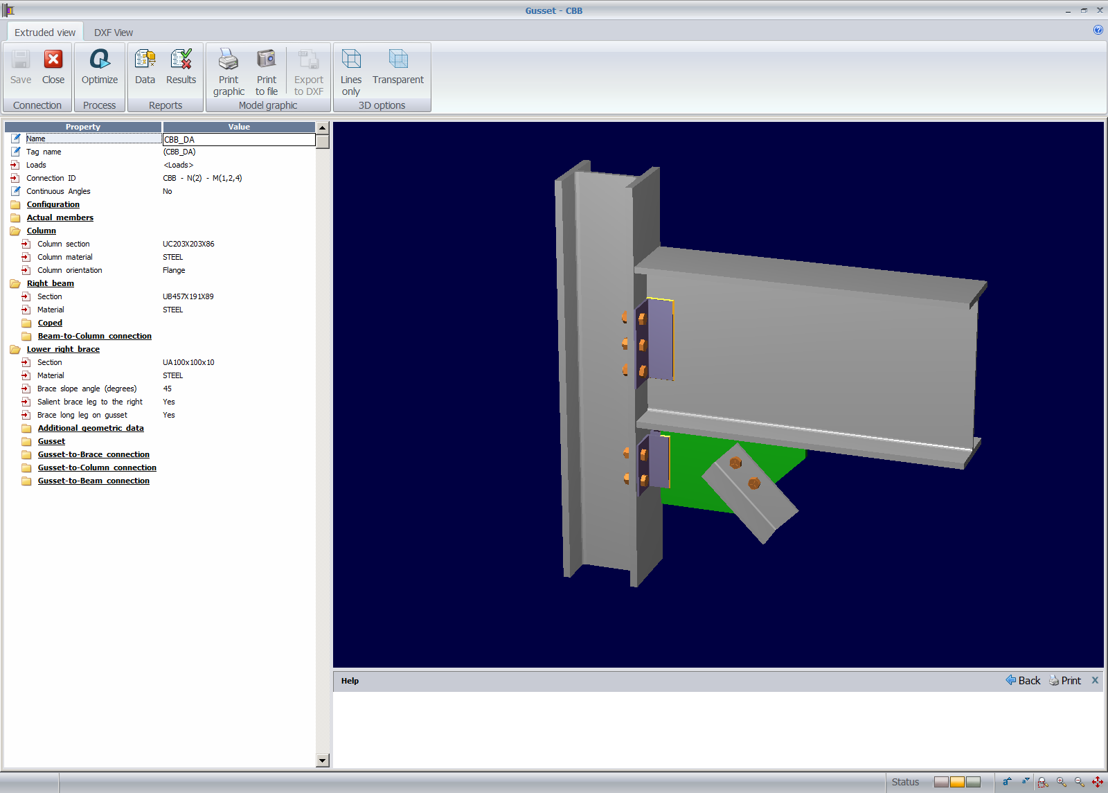 Modeling And Designing Gusset Connection In Staad Pro