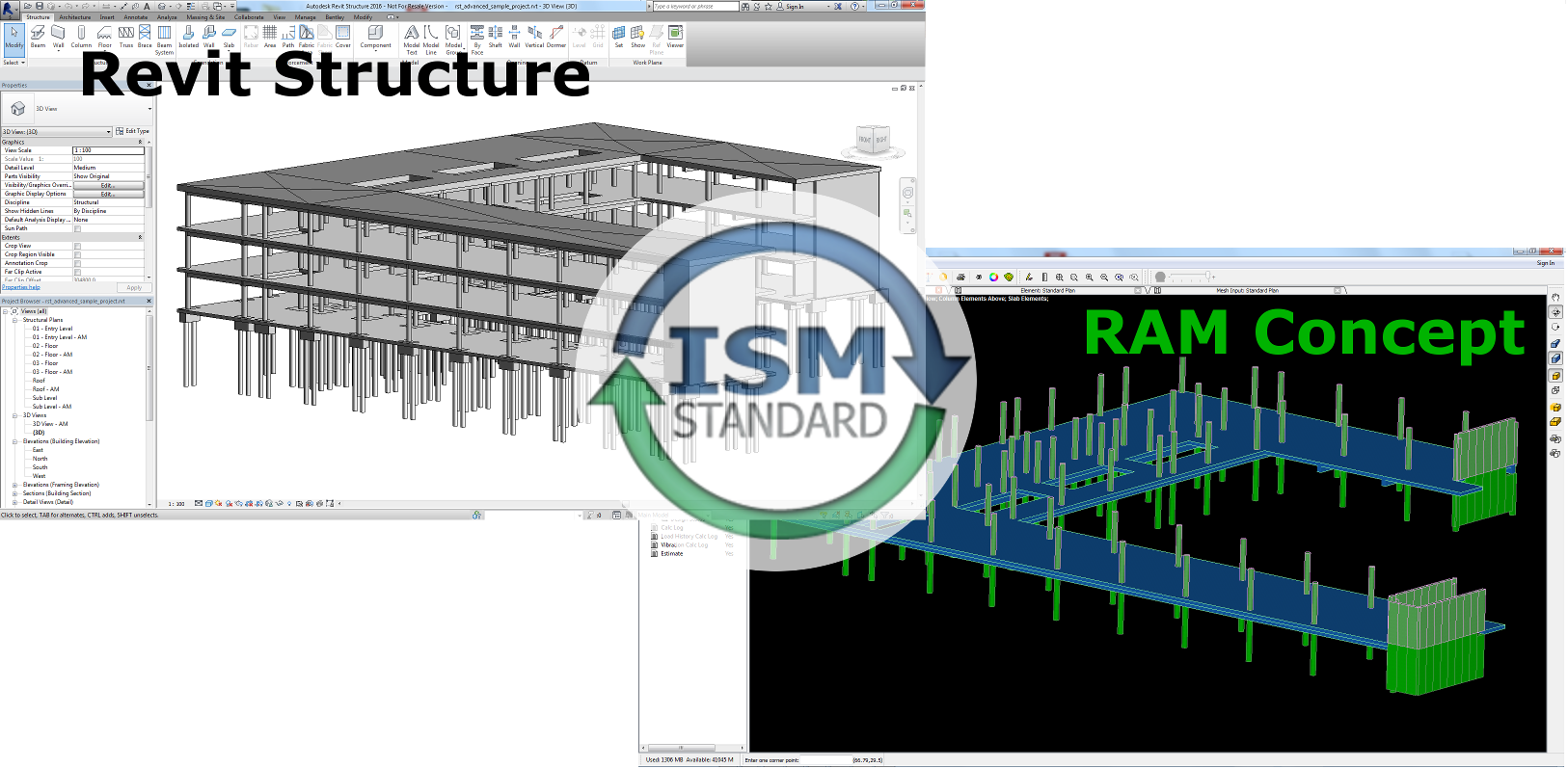 RAM Concept Interoperability with Revit - Recomputing Nodes