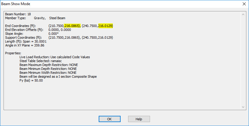Revit Brace or Beam Off Axis Warning - RAM | STAAD Wiki