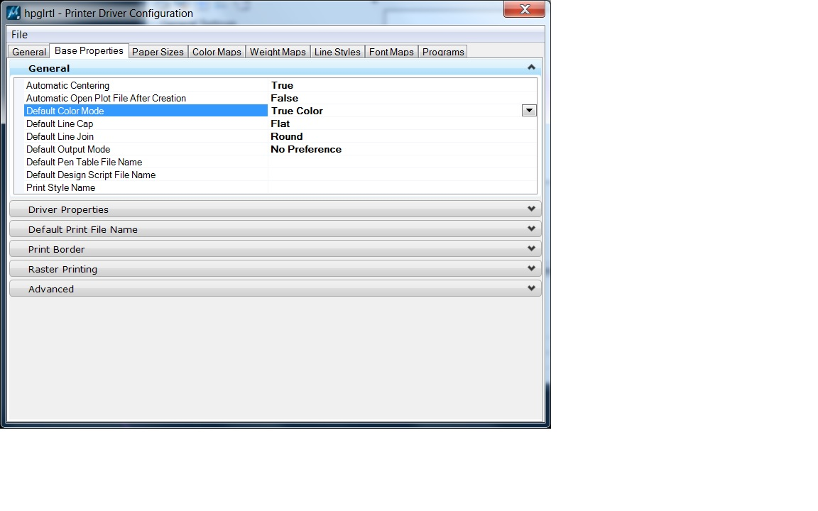 You Will Also Need To Make Sure The Apply Print Color Mode Raster Is Selected In Attributes Settings Dialog