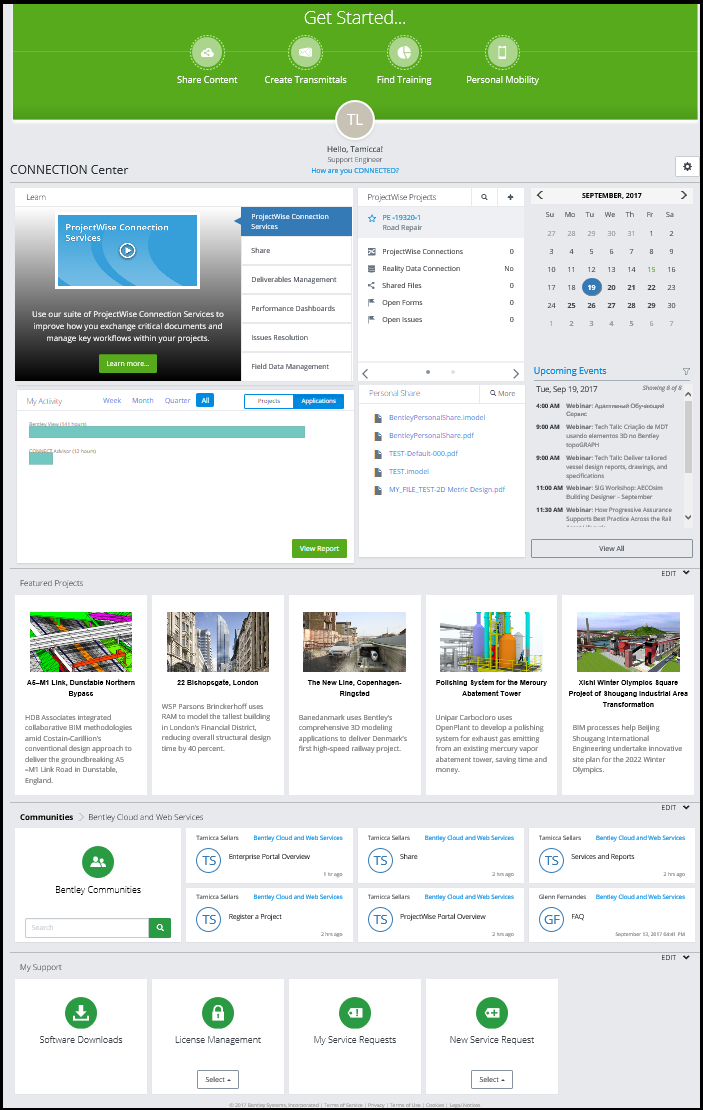 CONNECT Center Overview - Cloud and Web Services Wiki