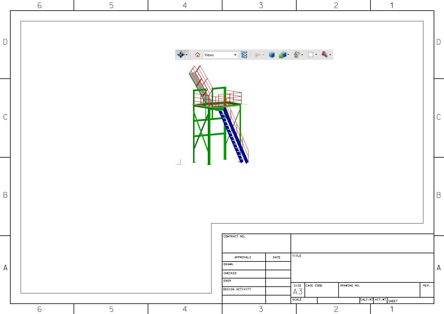 Wussten Sie, dass Sie ein 2D Blattmodell (Zeichnungsrahmen) mit 3D ...