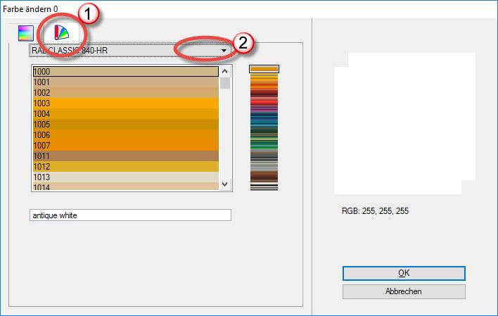 Farbtabelle - MicroStation Wiki (Deutsch) - MicroStation - Bentley ...