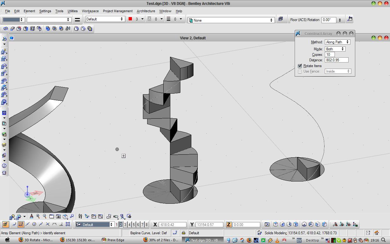 3D Rotate - [Archived] MicroStation V8i VBA Forum
