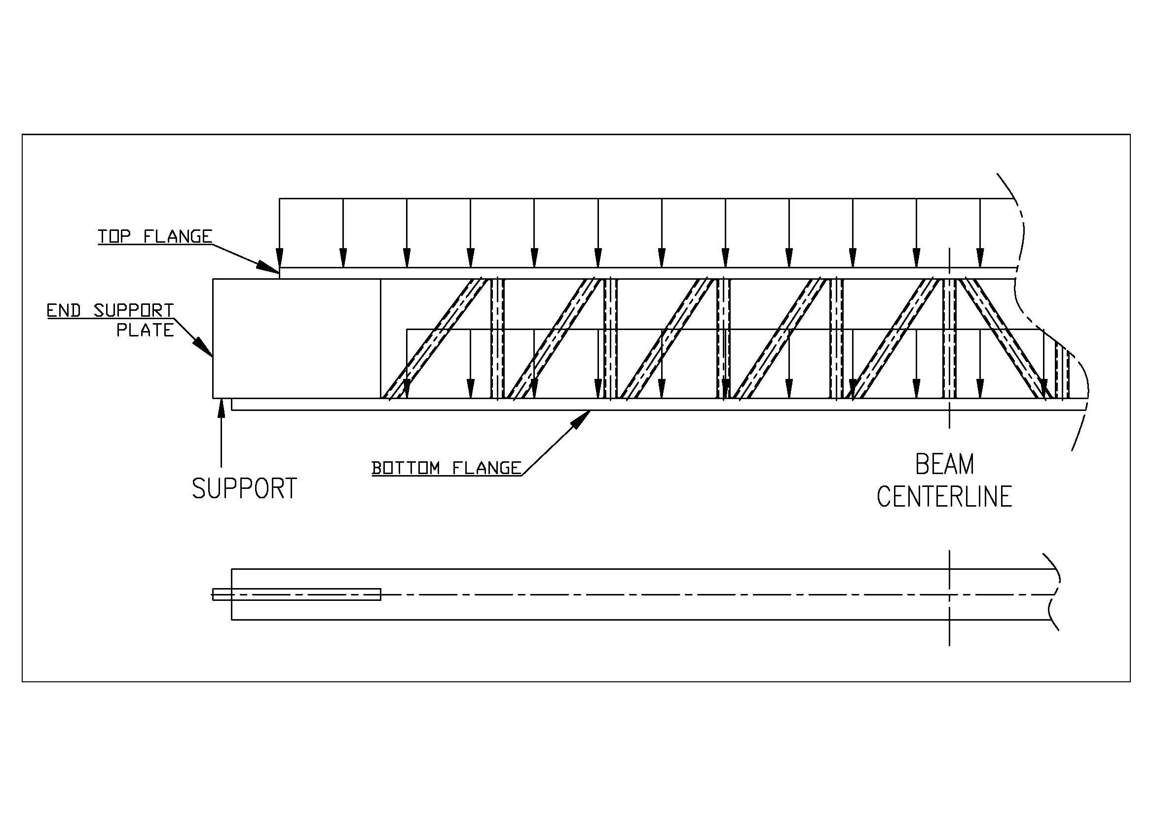 STAAD Pro: Modelling of lattice beam - RAM | STAAD Forum - RAM | STAAD - Bentley Communities