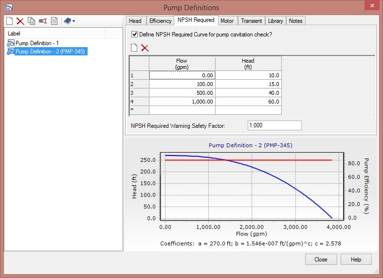 Calculating Net Positive Suction Head (NPSH) - OpenFlows