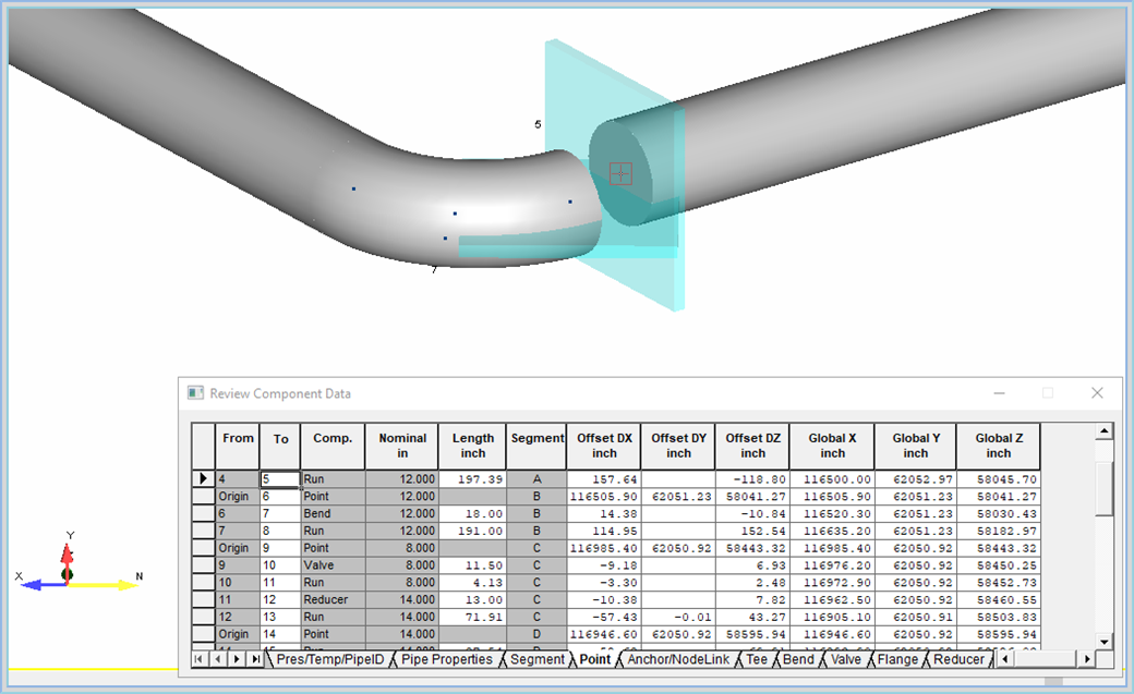 18  Parts of my PCF translated file into AutoPIPE have piping that